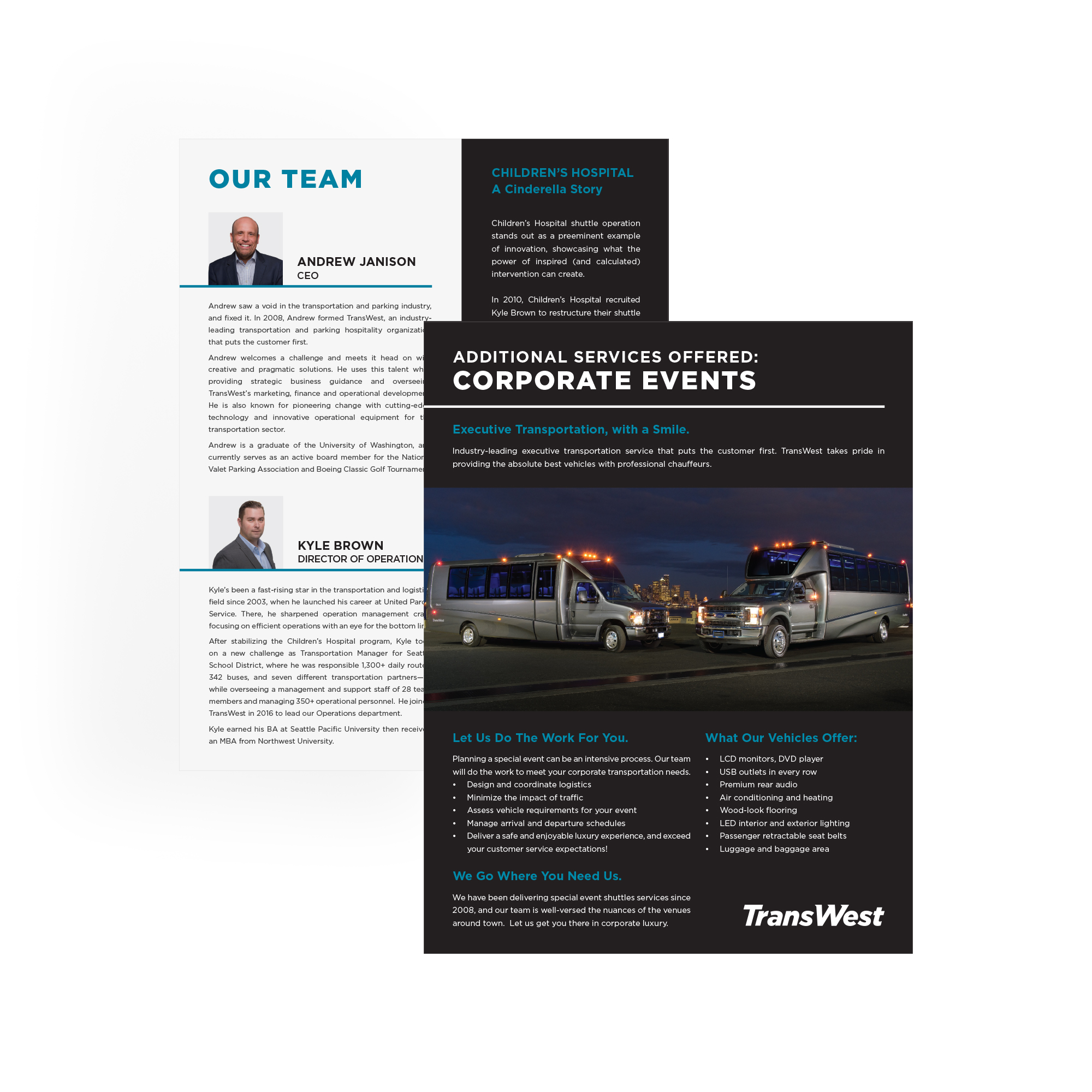 TransWest Printed Collateral